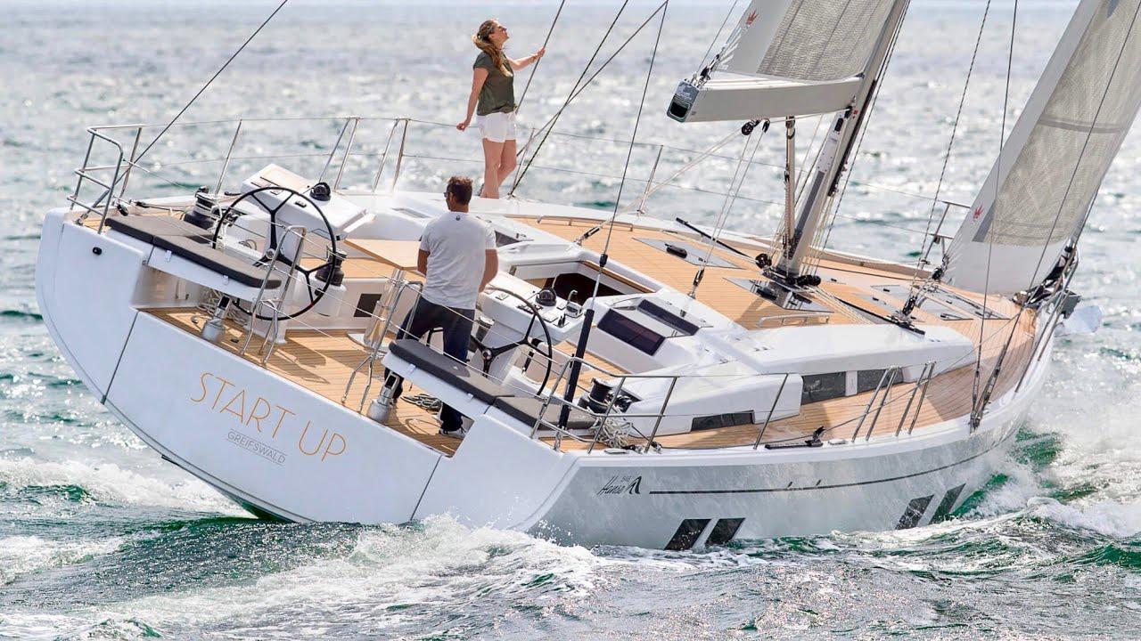 £700,000 Yacht Tour : Hanse 548
