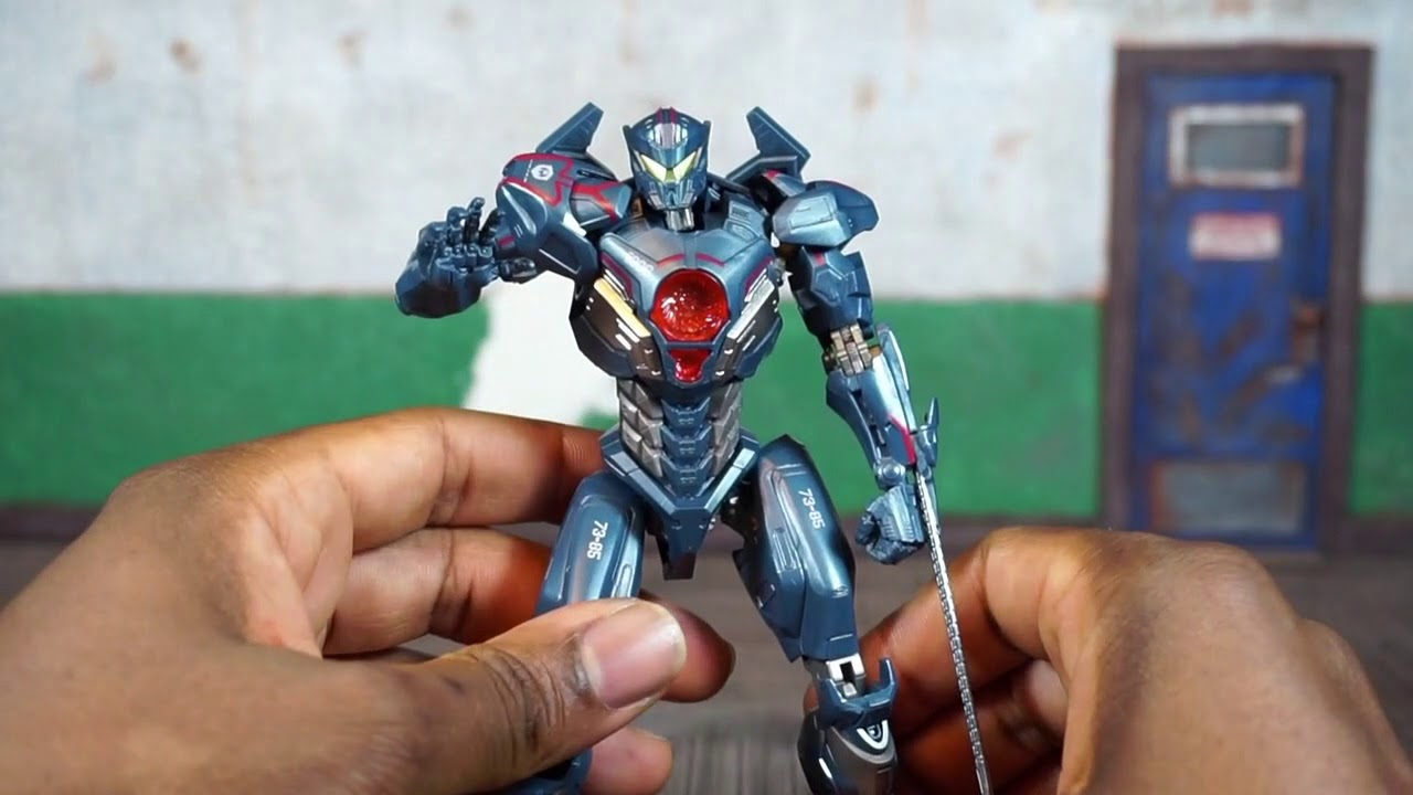 Pacific Rim Uprising Movie Bandai Tamashii Nations Robot Spirits GIPSY AVENGER Action Figure Review