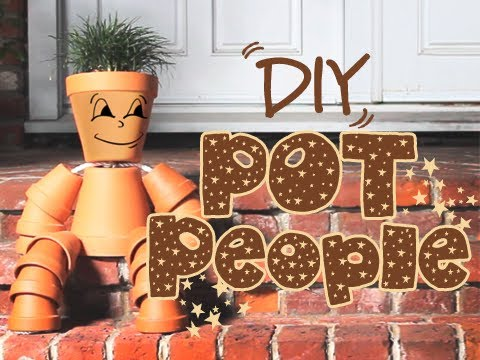 Diy Pot People Youtube