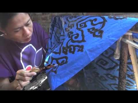 The Making Of Mega Mendung Batik Dedicated To South Pacific