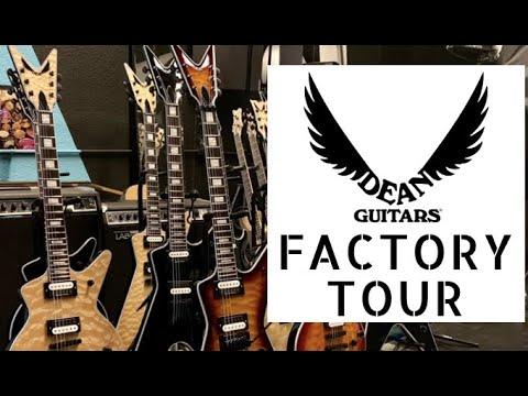 Dean Guitars USA | Factory Tour