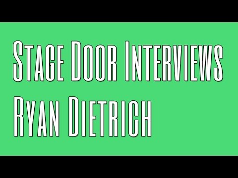Stage Door San Diego interviews Ryan Dietrich (9/16/16)