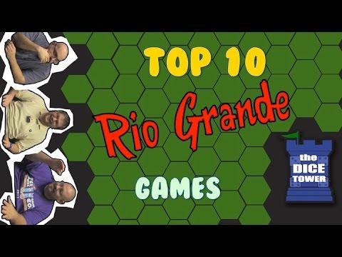 Top 10 Rio Grande Games