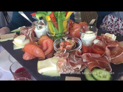 Marika Nöjdin herkullinen ruokamatka Baltic Princessille!