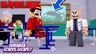 ROBLOX - ESCAPE THE SHRUNKEN SCHOOL!!!