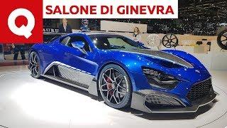 Zenvo TSR-S, 1200CV e l'ala mobile più assurda del mondo - Salone di Ginevra 2019 | Quattroruote