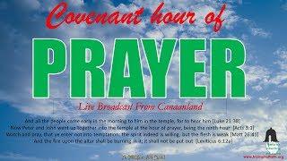Covenant Hour of  Prayer September 21, 2018