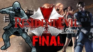 Los dos finales | Resident Evil: Operation Raccoon City | Misión 7 (Final)