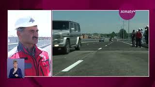 Автомобильное движение на развязке  Рыскулова и Кульджинский тракт запущено в Алматы (05.07.19)