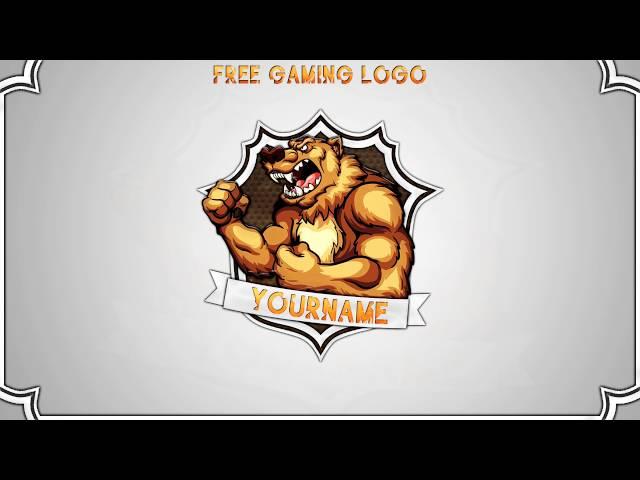 Hakson free gaming clan logo template photoshop cs6 psd ...