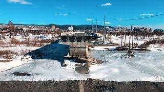 4. Как выжить в Чите? Разрушенный мост, Крымский мост.