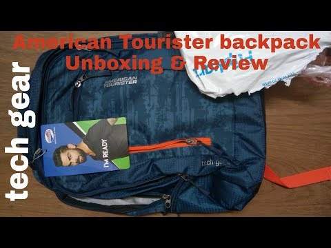 American Tourister AMT Tech Gear Laptop Backpack Unboxing & Review|Ordered From Flipkart