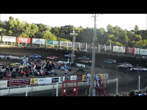 Hobby Stock Feature - Husets Speedway 9-1-14