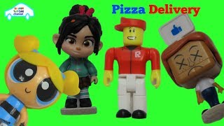 Roblox Pizza Place toys | Vanellope PPG Bubbles delivery guy