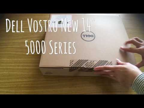 DELL NEW Vostro 14 5000 Series Laptop Unboxing Scene