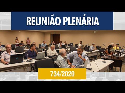 734ª Reunião Plenária - Crea-AL