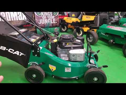 """Bob Cat Commercial 21"""" Walk-Behind Mower And Bob Cat  48"""" XRZ PRO RS First Look"""
