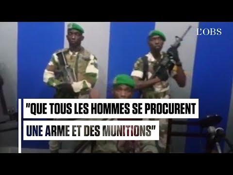 Gabon : des soldats appellent à un coup d'Etat contre Ali Bongo