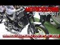 EICMA 2017 - Benelli Leoncino 500 Sport 2018