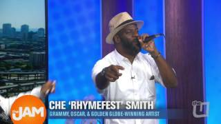 "Rhymefest Performs ""The Jam's"" Theme Song!"
