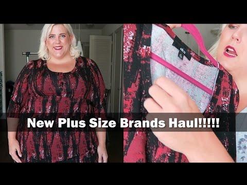 Fall Plus Size Fashion Haul 2016: New Brands Ellos + JustFab