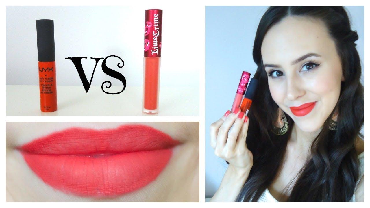 nyx red lip gloss