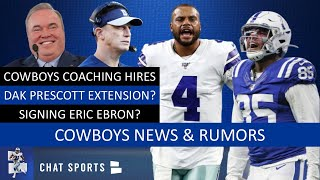 Cowboys Rumors & News: Dak Prescott Extension? Doug Nussmeier New QB Coach & Coaching Staff Hires