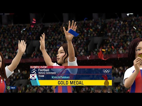 Olympic Games Tokyo 2020: The Official Video Game Gameplay - Football (Soccer) |