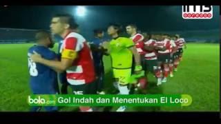 Arema Vs Madura United 2-1 | All Goals & Highlights TSC 2016
