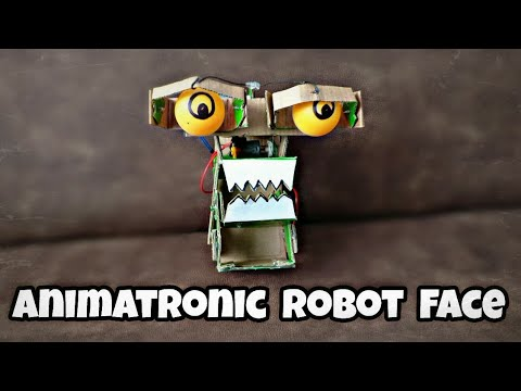 How To Make Animatronics Robot Face