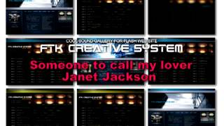 Janet Jackson - Someone to call my lover techno remix