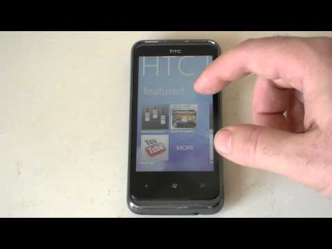 HTC 7 Pro Windows Phone 7 Software Tour | Pocketnow