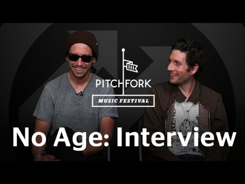 No Age - Interview - Pitchfork Music Festival 2011
