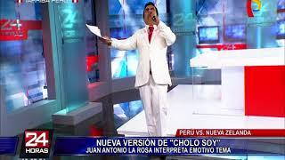 """Nueva versión de """"Cholo Soy"""" dedicada a la bicolor"""