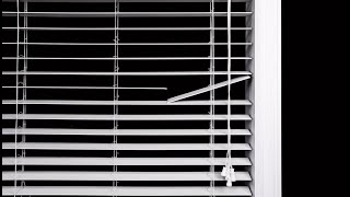 How to Replace a Broken Routless Slat in a Horizontal Blind