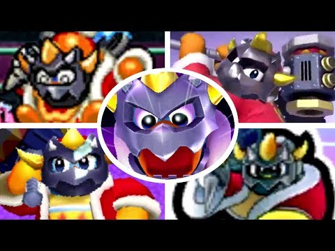 All Masked Dedede Battles & Appearances in Kirby Games (2008-2018)