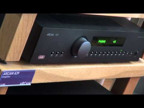 Quick Look - Arcam FMJ A39 Integrated Amplifier