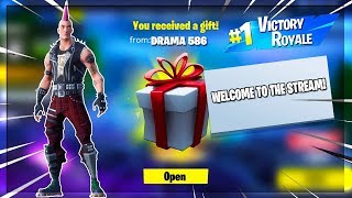 🔴 GIFTING SYSTEM OUT NOW // NEW RIOT SKIN // CHILL STREAM WITH SUBS // FORTNITE BATTLE ROYALE