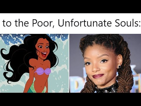 DISNEY RESPONDS to #NotMyAriel & LITTLE MERMAID Halle Bailey CASTING BACKLASH with an OPEN LETTER