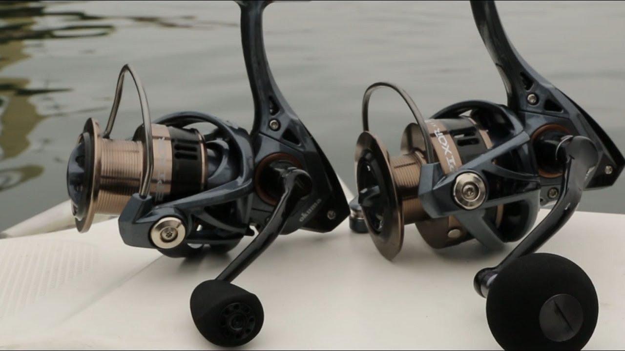 Best Spinning Reel 2020.New For 2020 Okuma Epixor High Speed Spinning Reels