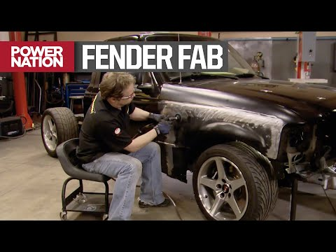 Front Fender Fab On Our Race Track Ready Ford Ranger - Trucks! S13, E6