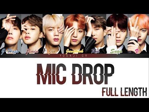 BTS (방탄소년단) - Mic Drop FULL LENGTH (Steve Aoki Remix) Lyrics [Color Coded Han/Rom/Eng] indir