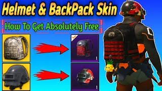 HOW TO GET FREE BAGPACK AND HELMET SKIN & What Is legendary Permanent Outfits In PUBG MOBILE !