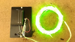 Simplest solar light possible, using old phone battery.
