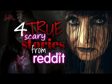 The Bloody Screaming Lady | 4 True HORROR Stories From Reddit | Scary Stories For A Rainy Night