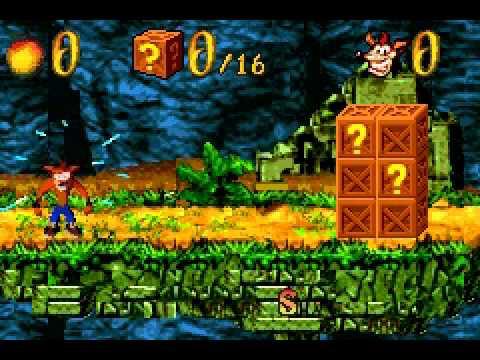สูตร Crash Bandicoot The Huge Adventure Code Breaker