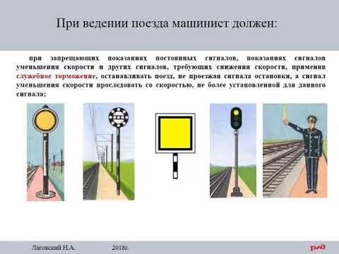 ПТЭ Приложение №6. 99  При ведении поезда машинист должен