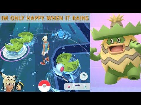 Download Youtube: Finding Elusive Lotad on Rainy Weather! 100 IV huntingPokemon
