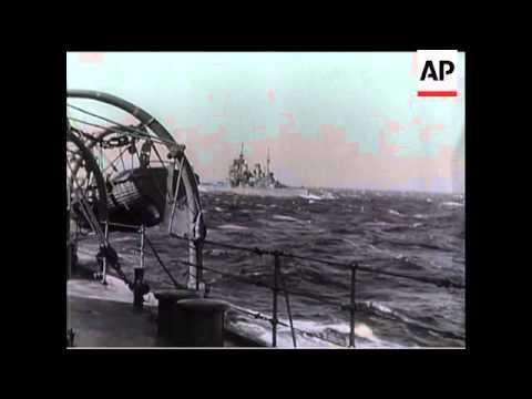 HMS Prince Of Wales At Sea