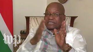 South Africa's Zuma addresses the nation